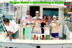 Fun for the whole family with smaller fish in the bay!