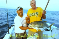 Jack Crevalls are thick in the bay, just ask Capt. Scooby on Guanatuna