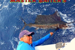 Releasing another Sailfish at Corbeteña. We released five this day!