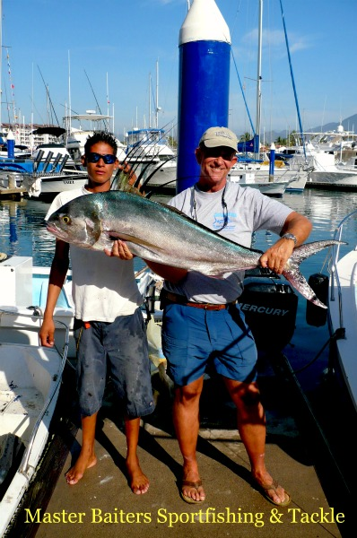 Stan and rooster fish