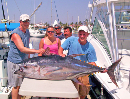 Avg. Sized Yellowfin for this time of year Sept