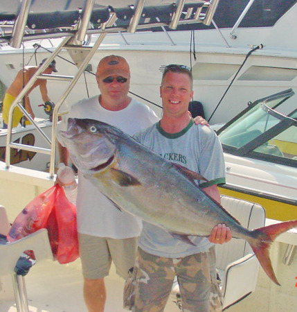 AmberJacks, bottom fishing and trolling well get you one of these in Summer
