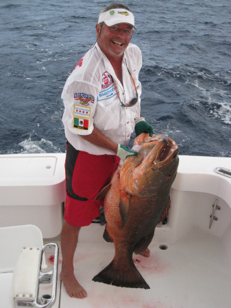 This fish is a little heavy for Ken to lift, Is that a problem?