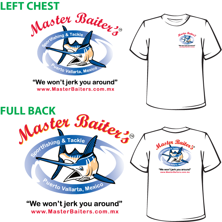 Xmas Presents, Fishing Tshirts from Master Baiter´s Sportfishing