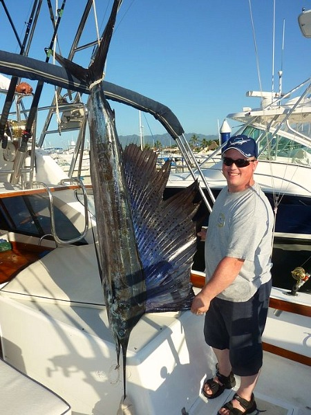 Another Happy Return Client, Nathan Got His Sailfish!