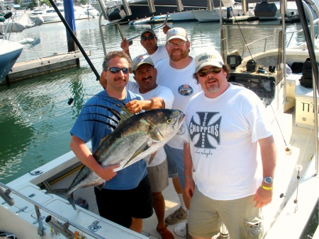 Rooster Fish at The Marietta Islands