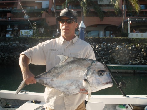 African Pompano at the Marietta Islands