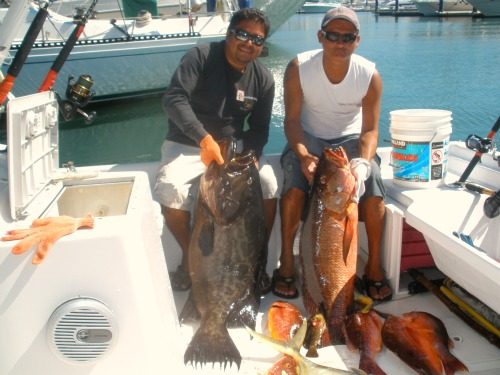 A Great Day at the Marietta Islands, Capt. Oscar and First Mate Marco