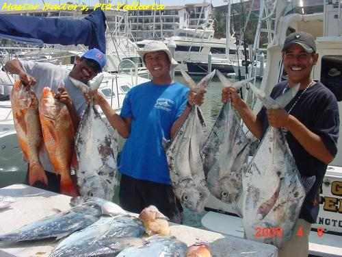 Snappers and African Pompano, Master Baiter's 2004ish