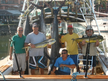 Dorado, Marlin, Sailfish at Corbeteña, all in the same day!