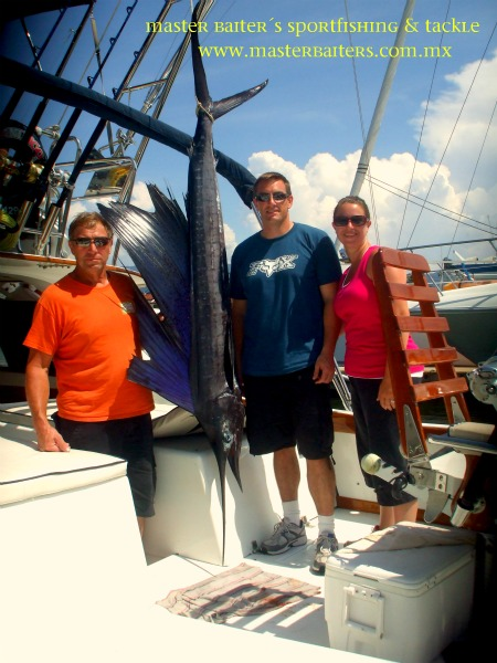 Sailfish on Magnifico,Cabo Corrientes, Rod Hewitt, Jason & Melissa Reiner