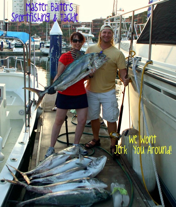 Rooster Fish at the Marietta Islands, Joe and Wife, Baruk, 8 hrs