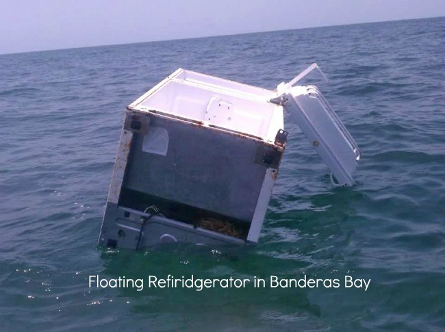 A Floating Fridge in Banderas Bay
