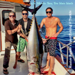 Larry and the boys YellowfinTuna 275 with Text