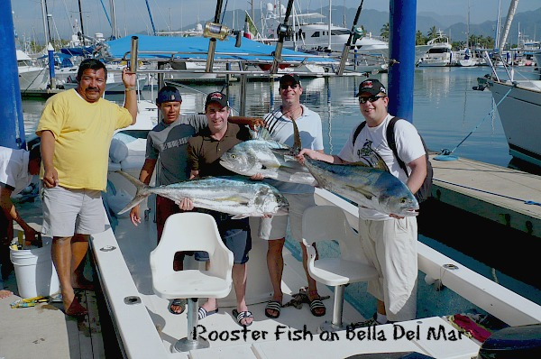 05 21 2014 Rooster Fish n Bella Del Mar wCapt Victor and Torta, www.masterbaiters.com.mx