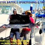 This Sailfish was boated at Los Arcos in the bay!