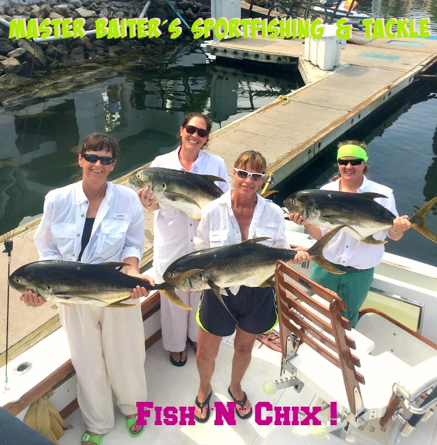 Had a great group of Ladies have a great four hour fishing trip on Magnifico with large Jack Crevalls!