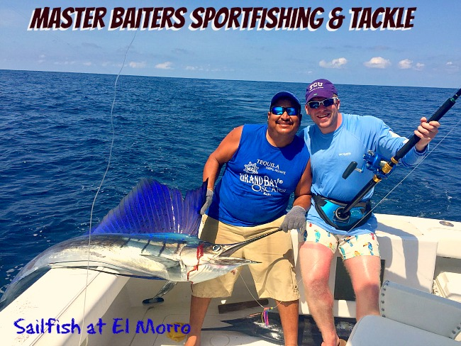 No Shortage of Sailfish right now at our World Famous Fishing Grounds!