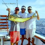 Dorado finally move into Corbeteña, Late but Welcome! Magnifico with Carlos First Mate, Capt Cesar and Chico Second Mate.....