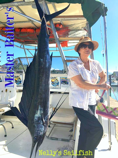 My Friend Nelly and her nice sized Sailfish !