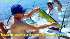 Peter Again with a small freak Dorado off Los Arcos