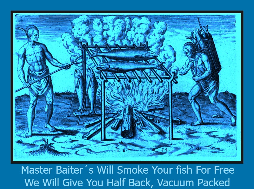 Smoke Your Fish 6 Framed With Text