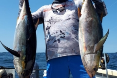 03 02 2018 Yellowfin Tuna Footballs, 2 El Morro