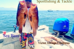 03 11 2018 Victor and his Sea Bass, Ameca Rivr 01 650 pxls MBText