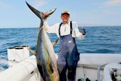 10 10 2018 Rooster Fish, Tres Maria Islands, 300 lb yellowfin tuna